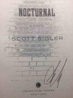 NOCTURNAL: A Novel. by Sigler, Scott.