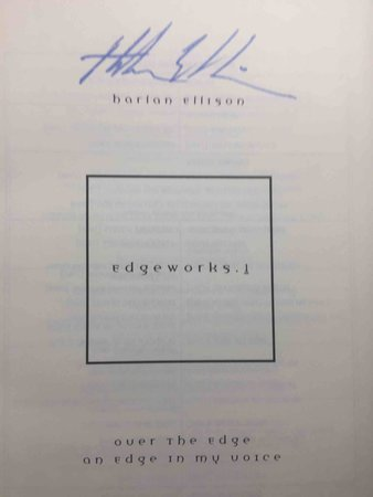 EDGEWORKS 1. by Ellison. Harlan.