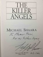 THE KILLER ANGELS. by Shaara, Michael  (signed by Jeff Shaara)