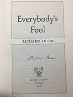 EVERYBODY'S FOOL. by Russo, Richard.