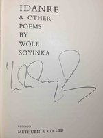 IDANRE AND OTHER POEMS. by Soyinka, Wole.