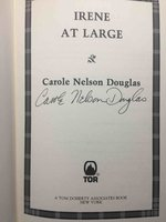 IRENE AT LARGE. by Douglas, Carole Nelson.
