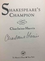 SHAKESPEARE'S CHAMPION. by Harris, Charlaine.
