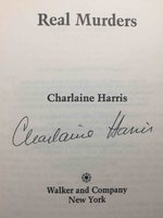 REAL MURDERS. by Harris, Charlaine.