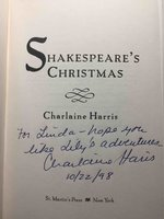 SHAKESPEARE'S CHRISTMAS. by Harris, Charlaine.