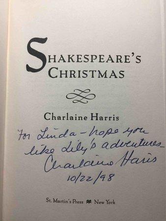 SHAKESPEARE'S CHRISTMAS. by Harris, Charlaine.