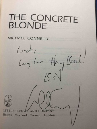 THE CONCRETE BLONDE. by Connelly, Michael.
