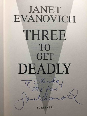 THREE TO GET DEADLY by Evanovich, Janet