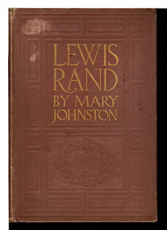 LEWIS RAND. by Johnston, Mary (1870-1936).