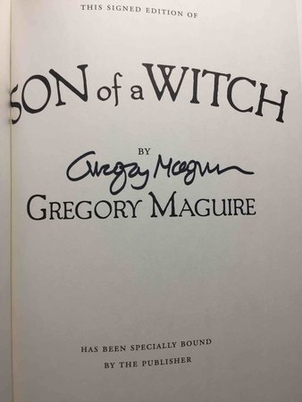THE SON OF A WITCH. by Maguire, Gregory.