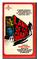 LAND OF THE GIANTS. by Leinster, Murray.
