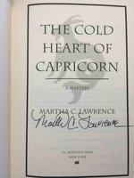 THE COLD HEART OF CAPRICORN. by Lawrence, Martha.