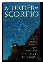 THE MURDER IN SCORPIO. by Lawrence, Martha.