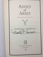 ASHES OF ARIES. by Lawrence, Martha.