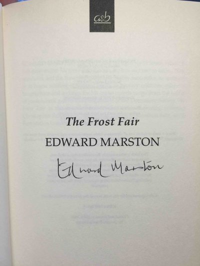 THE FROST FAIR. by Marston, Edward.