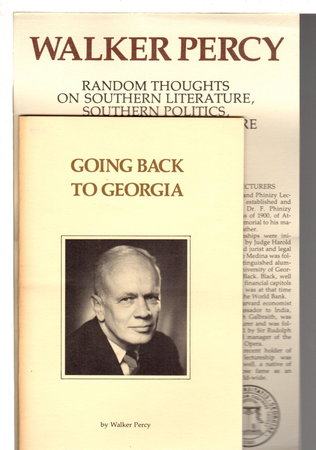 GOING BACK TO GEORGIA. by Percy, Walker.