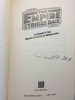 STAR WARS: THE EMPIRE STRIKES BACK. by Glut, Donald F. (based on a story by George Lucas)