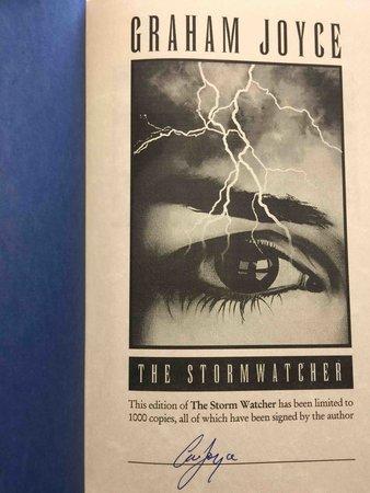 THE STORMWATCHER. by Joyce, Graham.