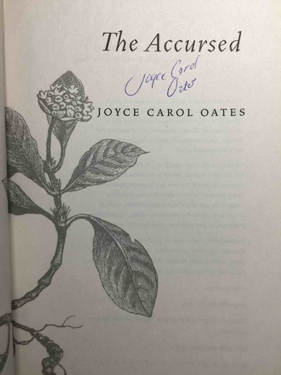 THE ACCURSED. by Oates, Joyce Carol.
