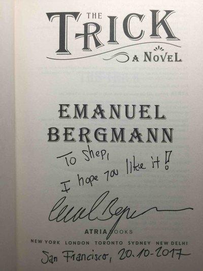 THE TRICK. by Bergmann, Emanuel.
