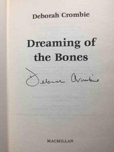DREAMING OF THE BONES. by Crombie, Deborah
