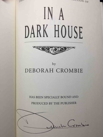 IN A DARK HOUSE. by Crombie, Deborah