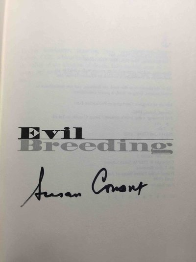 EVIL BREEDING: A Dog Lover's Mystery. by Conant, Susan.