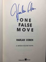 ONE FALSE MOVE: A Myron Bolitar Novel. by Coben, Harlan.