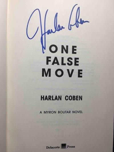 ONE FALSE MOVE: A Myron Bolitar Novel. by Coben, Harlan.