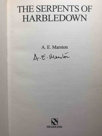 THE SERPENTS OF HARBLEDOWN.  by Marston, Edward (pseudonym of Keith Miles)