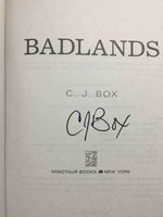 BADLANDS. by Box, C. J.