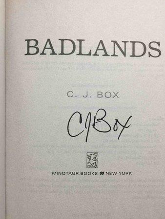 BADLANDS. by Box, C. J.