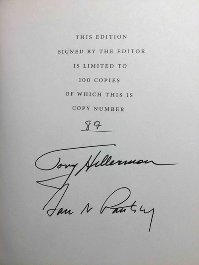 THE BEST AMERICAN MYSTERY STORIES OF THE CENTURY. by [Anthology, signed] Hillerman, Tony, editor. Sara Paretsky, signed.
