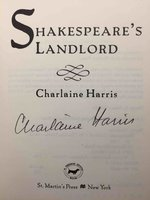 SHAKESPEARE'S LANDLORD. by Harris, Charlaine.
