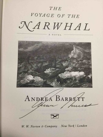 THE VOYAGE OF THE NARWHAL by Barrett, Andrea