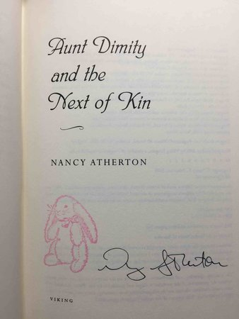 AUNT DIMITY AND THE NEXT OF KIN. by Atherton, Nancy.