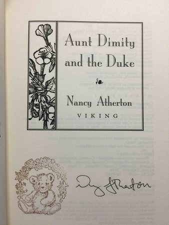AUNT DIMITY AND THE DUKE. by Atherton, Nancy.