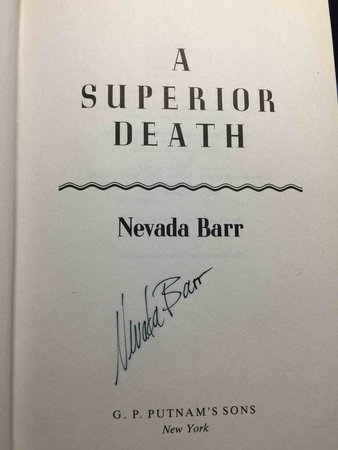 SUPERIOR DEATH. by Barr, Nevada.