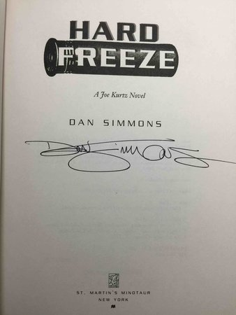 HARD FREEZE. by Simmons, Dan.