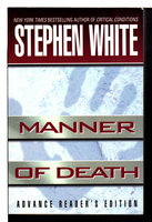 MANNER OF DEATH. by White, Stephen.