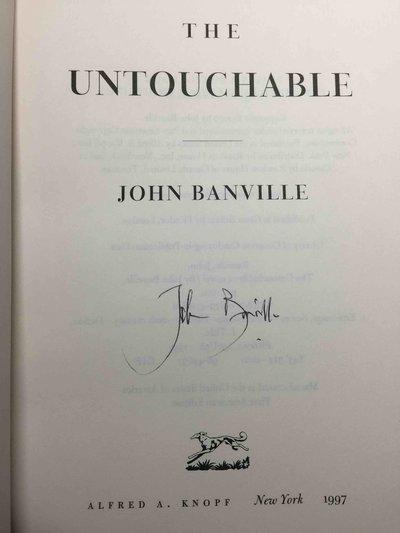 THE UNTOUCHABLE. by Banville, John.
