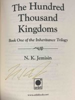 THE HUNDRED THOUSAND KINGDOMS:  Book One of the Inheritance Trilogy. by Jemisin, N. K.