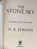 THE STONE SKY:  Book Three of the Broken Earth Trilogy. by Jemisin, N. K.