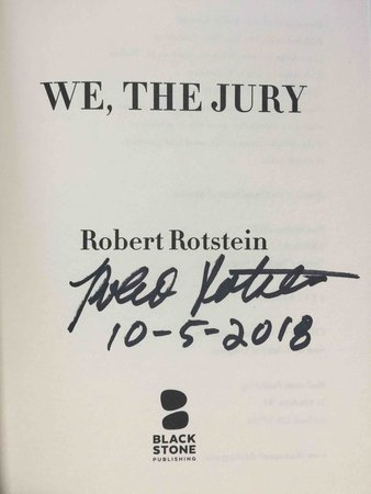 WE, THE JURY. by Rotstein, Robert.