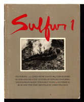 SULFUR 1: A Literary Tri-Quarterly of the Whole Art. by Eshleman, Clayton, editor.