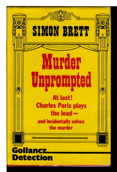 MURDER UNPROMPTED. by Brett, Simon