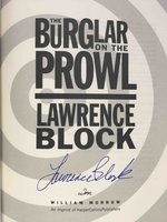 THE BURGLAR ON THE PROWL. by Block, Lawrence.