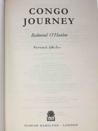 CONGO JOURNEY. by O'Hanlon, Redmond.