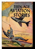 TEEN-AGE AVIATION STORIES: The Teen-age Library. by Samson, Don, editor.