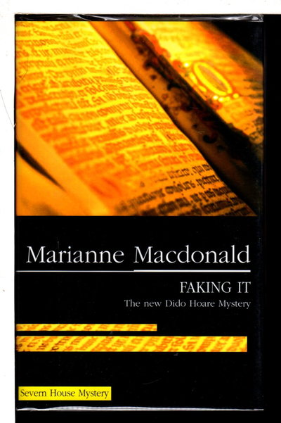 FAKING IT. by Macdonald, Marianne.